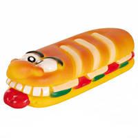 Игрушка для собак Батон с пищалкой. 19см Трикси 3463