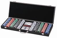 Покерный набор в кейсе на 500 фишек