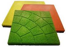 Резиновые плитки для площадок