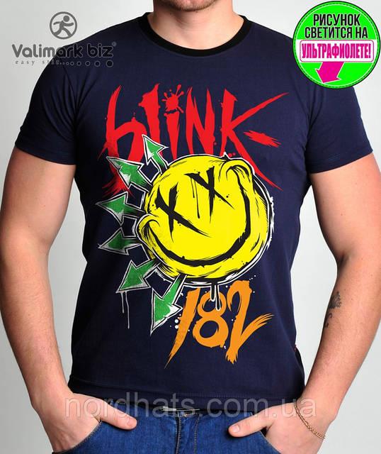 "Футболка молодежная ""Blink 182 "" "" Valimark biz """