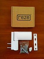 Петля дверная Reze 90 3D Alfa (до 80 кг.), белая.