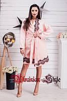Оригинальное женское кашемировое пальто с кружевом, фото 1