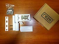 Петля дверная Reze 110 3D Alfa (до 120 кг.), белая.