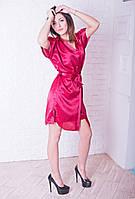 Сатиновый комплект с ночной рубашкой Элизабет