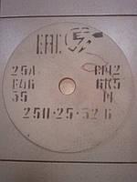 Круг абразивный заточный на станок 25A 250х25х32 мм