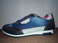 Детские джинсовые туфли мокасины Waykers р.26-35