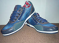 Детские джинсовые туфли мокасины Waykers