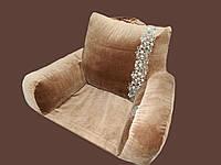 Ортопедическая подушка для чтения с основой. Без наволочки