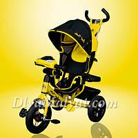 Трехколесный велосипед Best Trike 6588B желтый