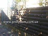 Штакетник металлический, евроштакетник, двухсторонний, 0.45 мм, полиэстер матовый, Украина, Китай, Польша, фото 2