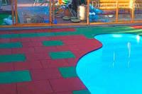 Производство резиновой тротуарной плитки