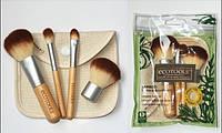 Набор Кистей для минеральной косметики  4 шт в чехле