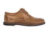 Кожаные летние туфли Bumer К 6