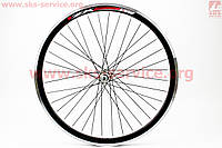 Колесо велосипедное 24 переднее MTB обод и втулка алюминиевые 14Gx36H