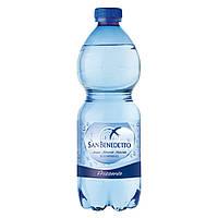 Минеральная вода с газом Сан Бенедетто/ San Benedetto 0.5 газ пэт