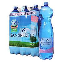 Минеральная вода без газа Сан Бенедетто/ San Benedetto 1.5 пэт