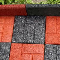 Тротуарная плитка из резиновой крошки цена