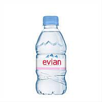 Мінеральна вода Эвиан/ Evian 0.33 пет