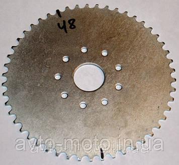 Звёздочка задняя веломотор 48 зуб