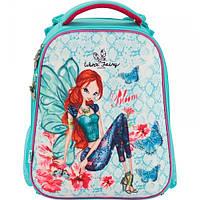 Школьный рюкзак каркасный Kite Winx W17-531M; рост 130-145 см