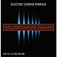 Струны Musician's Gear Electric 10 Nickel Plated Steel (010-046) для электрогитары
