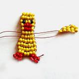 Брелок из бисера Комильфо 'Попугай' (Кб-01-03), фото 5
