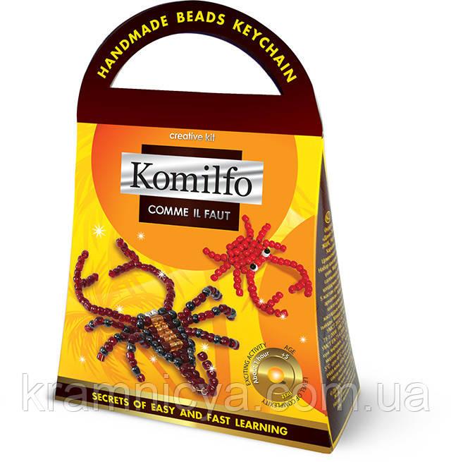 Брелок из бисера Комильфо 'Скорпион+краб' (Кб-01-06)
