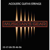 Струны Musician's Gear Acoustic 13 80/20 Bronze (013-056) для акустической гитары