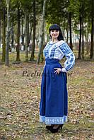 Блуза и юбка с вышивкой 17-03