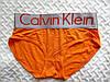 Женские трусики-слипы Calvin Klein steel, оранжевые