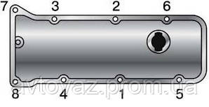 Крышка клапан.,, клапанная крышка ВАЗ 2104, 2105, 2107 АВТОваз