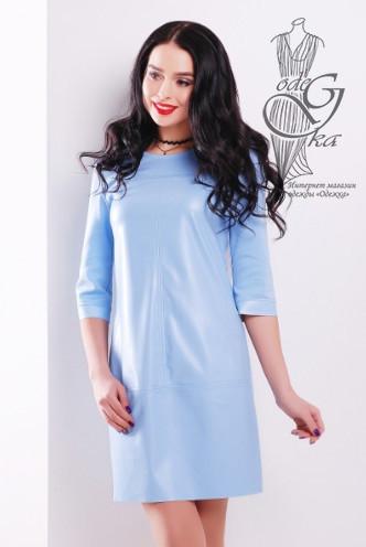 Подобные платья-5 Женского платья из эко-кожи Эдита-3