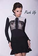 Боди - блуза Arefeva черная