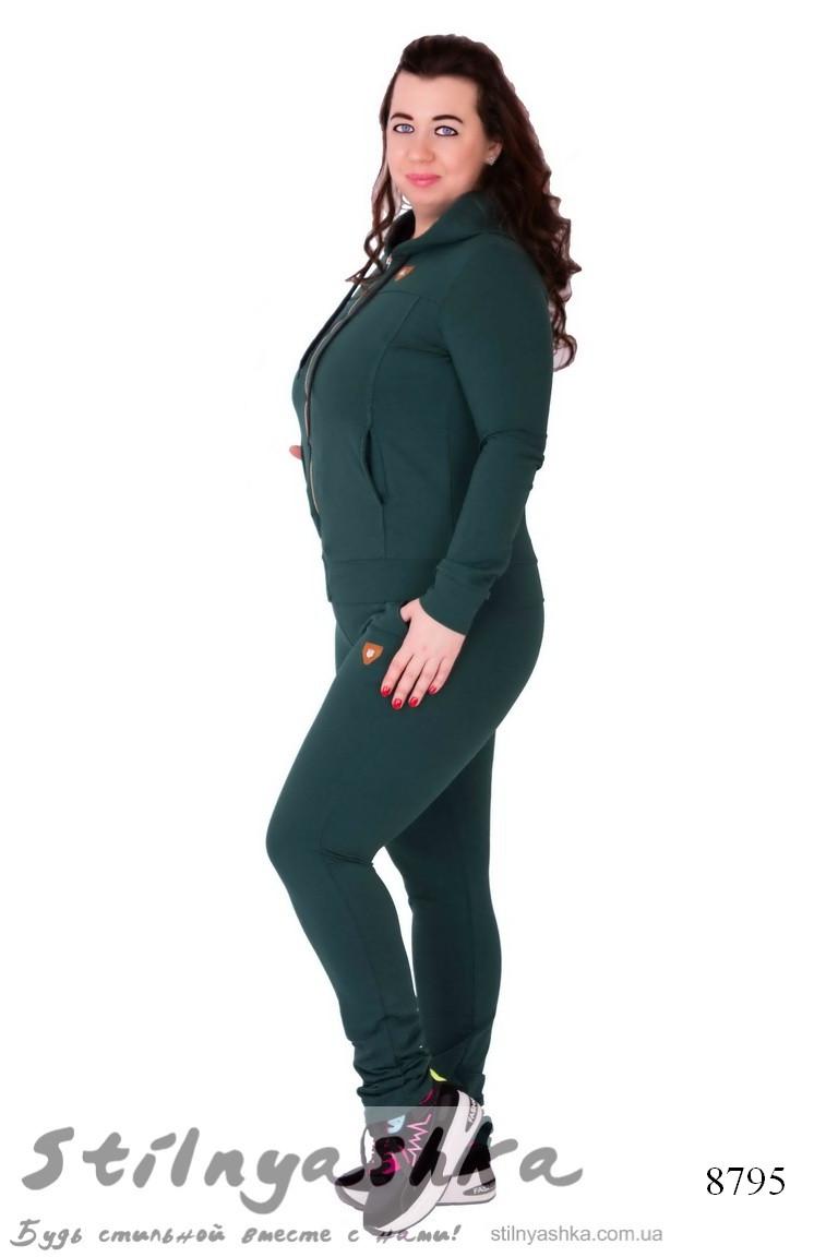 спортивный женский костюм для полных