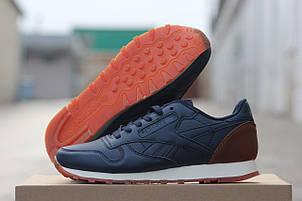 Подростковые кроссовки Reebok темно синие,36, фото 2
