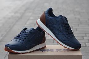 Подростковые кроссовки Reebok темно синие,36, фото 3
