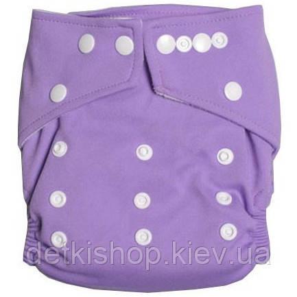 Многоразовый подгузник (фиолетовый)