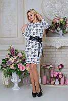 "Платье ""Бирма лайт Chanel"" Белый Love S"