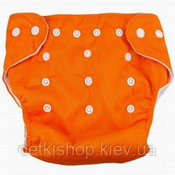 Многоразовый подгузник (оранжевый)