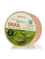 Успокаивающий и увлажняющий гель Farmstay Snail Moisture Soothing Gel