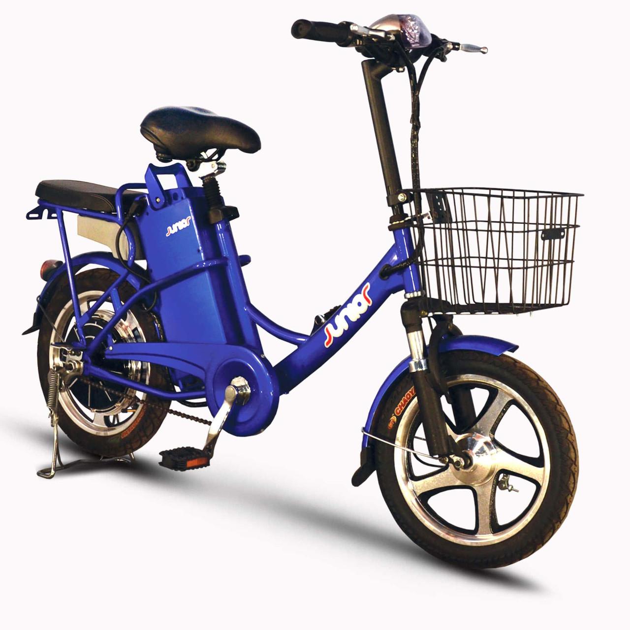 Электровелосипед SkyBike JUNIOR (350W/36V) синий