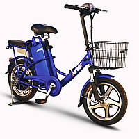 Электровелосипед SkyBike JUNIOR (350W/36V) синий, фото 1