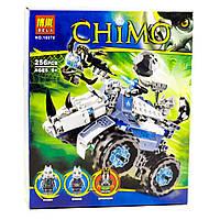 Конструктор Bela 10076 аналог LEGO Chima Камнемёт Рогона,  256 дет