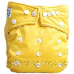 Многоразовый подгузник (жёлтый)