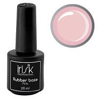 "База каучуковая камуфлирующая ""IRISK"" Rubber Base Pink, 20 г, светло-розовая, фото 1"
