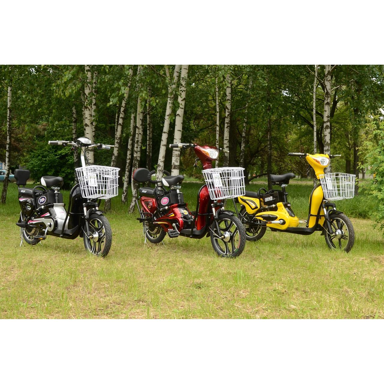 Электровелосипед SkyBike Lef  ( 350W-48/10 V/Ah) Красный
