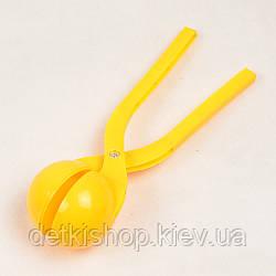 Сніжколіп «Малюк» (жовтий)