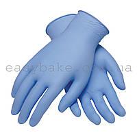 Перчатки нитрил супер Клин 3.0 голубые р.S 200 шт