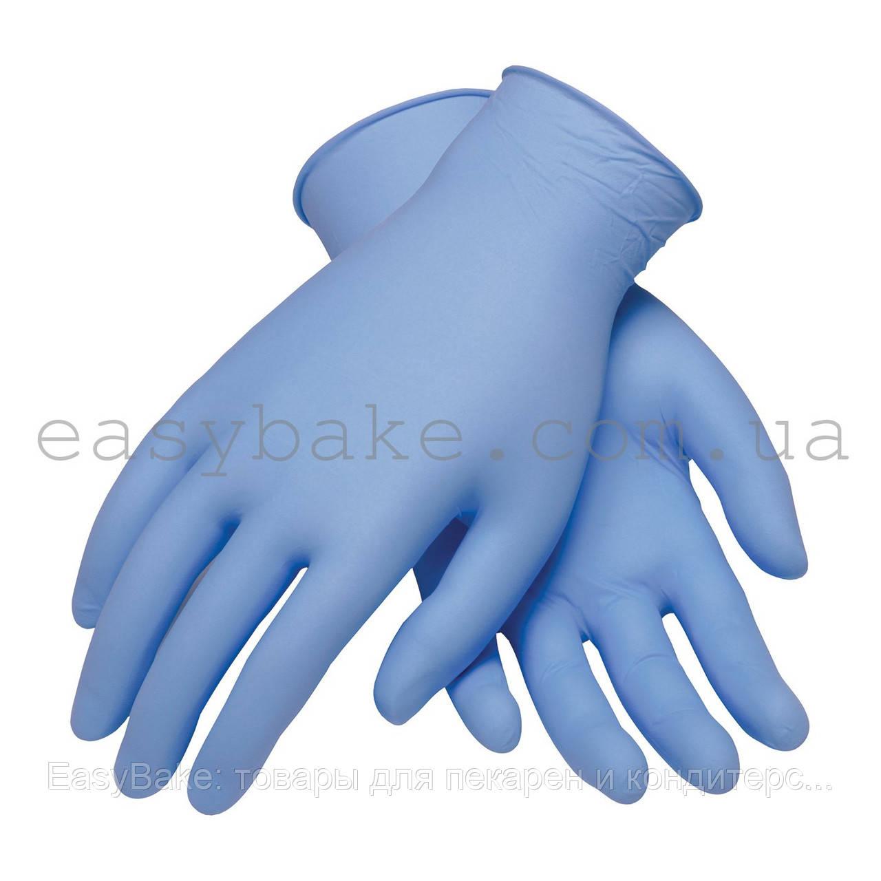 Перчатки нитрил супер Клин 3.0 голубые р.L 100 шт - EasyBake: товары для пекарен и кондитерских в Киеве