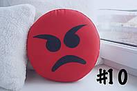 Злая  подушка-смайлик #10